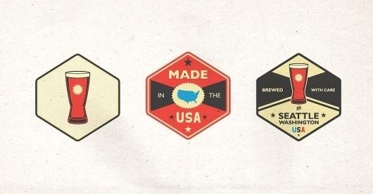 Riley Cran   Swallowed Sun Brewing Co. #marks #vector #logos #typography