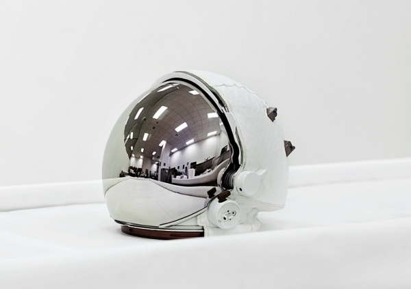 Photographer Vincent Fournier: Space-inspired Vision | WANKEN - The Art & Design blog of Shelby White #white #space #helmet #mirror #vincent