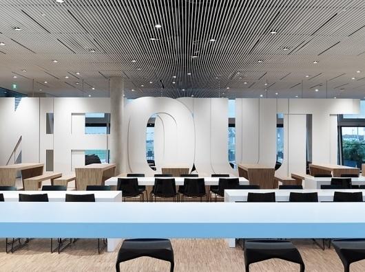 Adidas Laces 2011 | Büro Uebele | typetoken® #interior #design #architecture #signage #typography