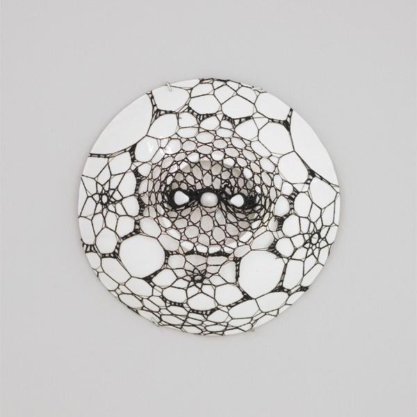 Bleta Jahaj #jahaj #crochet #sculpture #ceramic