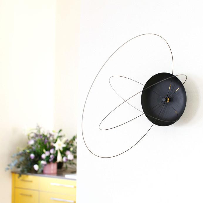 The Orbits Clock by Studio Ve new and unique wall clock - www.homeworlddesign. com (1) #clock #wall