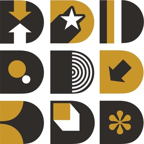 Self promotion (David Day Design logo). David Day Design #design #graphic #identity #logo #typography