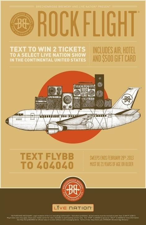 Breckenridge Rock Flight Poster #beer #poster