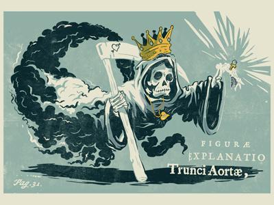 Ghostking #ghost #illustration #king