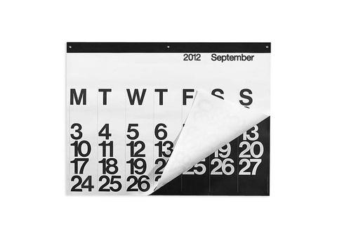 2012 Stendig Calendar (Calendars) | Stationery | Vetted #calendar #typography