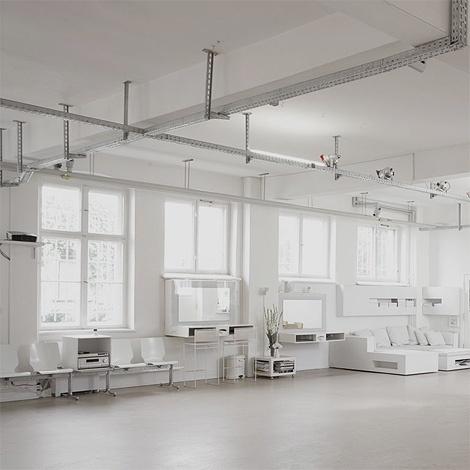 Creative Collider #interior #white #design #space #architecture