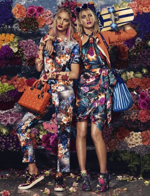 HIGH ROAD.LOW ROAD #fashion #campaign #floral