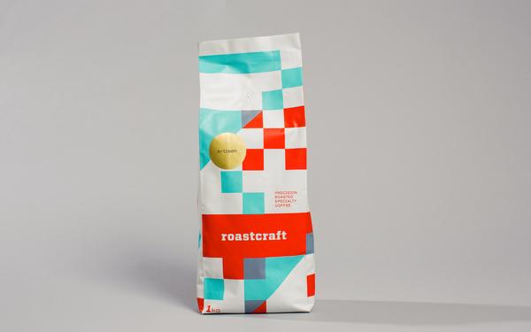 Roastcraft — Tom Clayton / Swear Words #packaging #coffee #branding