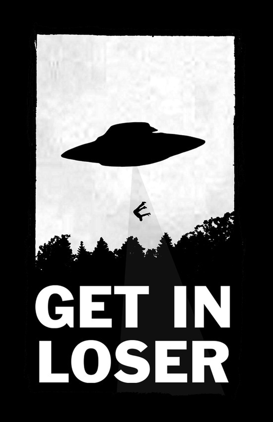 Get in loser - by Moop
