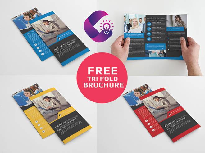 Free Tri-Fold Business Brochure Template