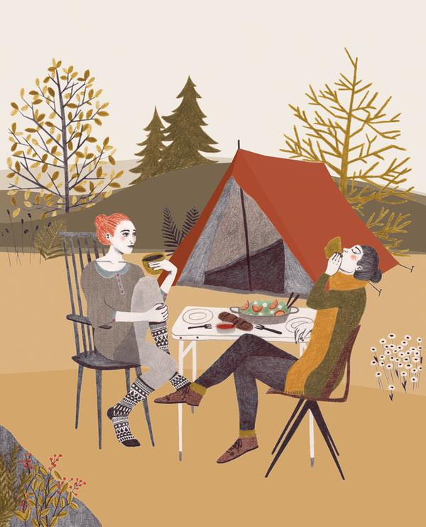 Gezondheidsweken_35_illustratie_web #illustration #handmade