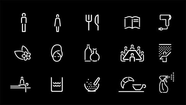 Studio Fuerte ― Poziom 511 #line #icon #sign #space #picto #symbol