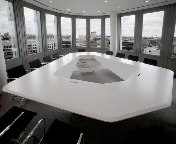 Interior ErnstYoung Boardroom Conference Table Furniture #interior #design #decor #home #furniture #architecture