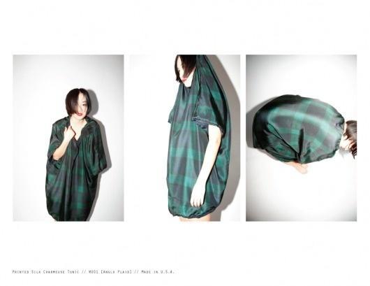 AW1011 Our Holy Roses #saenai #printed #charmeuse #silk #fashion #tunic