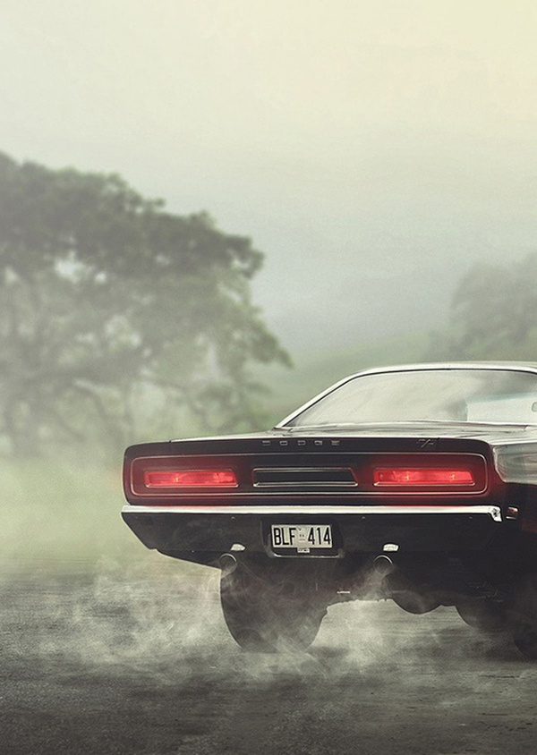 SOUL DESERT |||| / Motor #smoke #black #dodge #photography #america #car