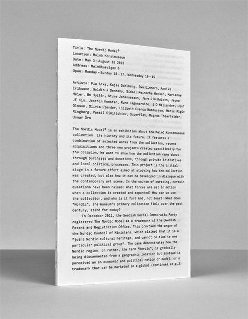 Research and Development #booklet #letters #typography
