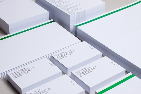 New Build Stationery | The Hatched Blog #build #branding #print #design #printing #brand #stationery #paper