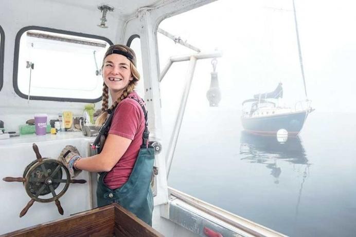 #2 Sadie Samuels, Lobster Fisher In Rockport, Maine
