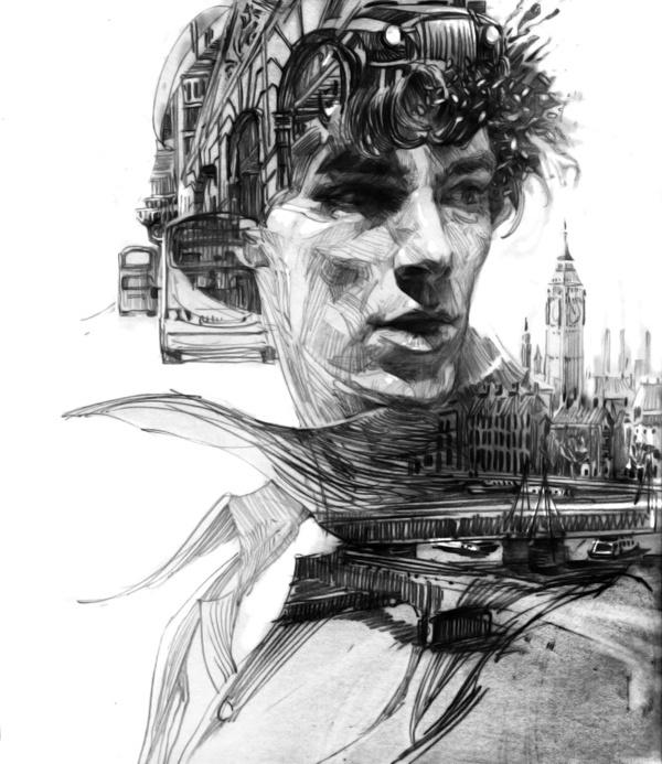 10 #illustration #sketch #pencil #digital #weber zhang