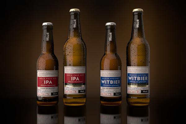 Mack Breweries #packaging #beer #label #bottle