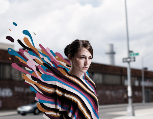 Adam Dedman #fashion #psychedelic #girl