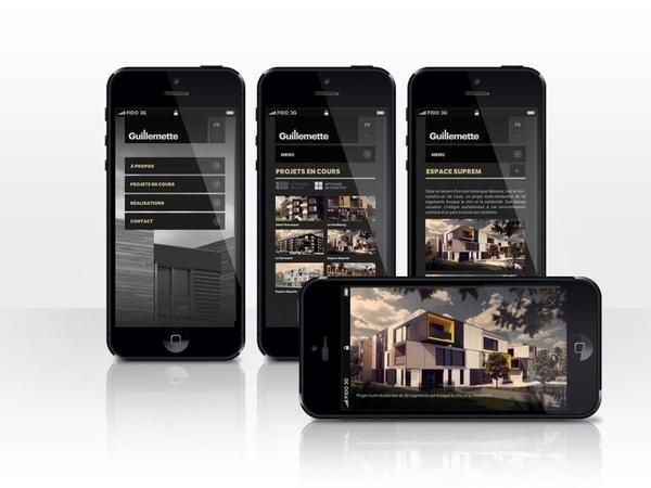 http://www.guillemetteproperties.com/fr #design #web #mobile