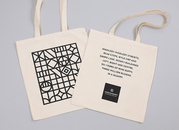 1 | A British Town Tries To Reinvent Itself For Tourists, Via Branding | Co.Design: business + innovation + design #bag #tote #branding