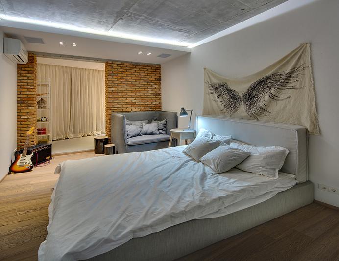 KaiF apartment by FORM architectural bureau - www.homeworlddesign. com (28) #interior #apartment #bedroom #design