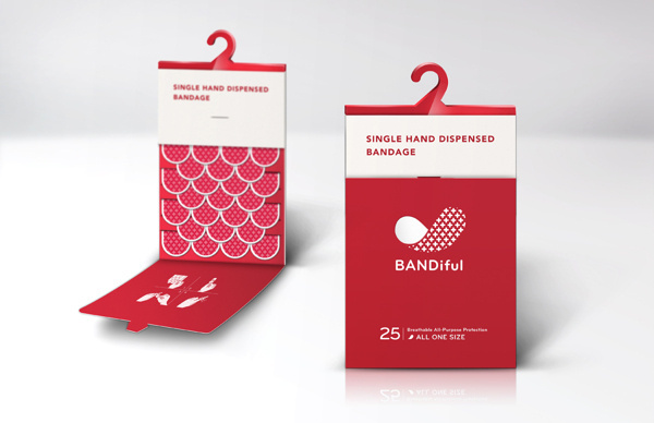 BANDiful on the Pratt Portfolios #packaging #aid #band