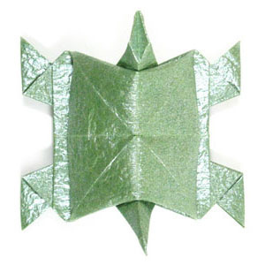 How to make a traditional origami turtle (http://www.origami-make.org/howto-origami-turtle.php)