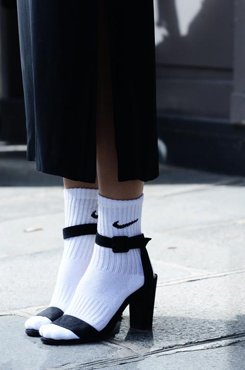 MOONMUD #socks #nike #heels #sandals