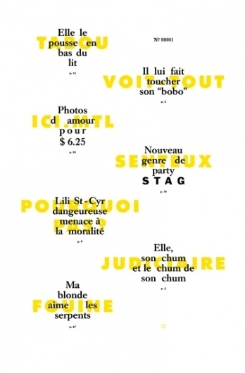 — 26 Lettres — #cohen #emanuel #yellow #letterpress #poster #made #type #hand #typography