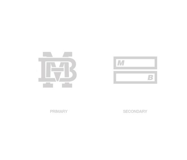 MB identity on the Behance Network #branding #design #icons #minimalism #identity