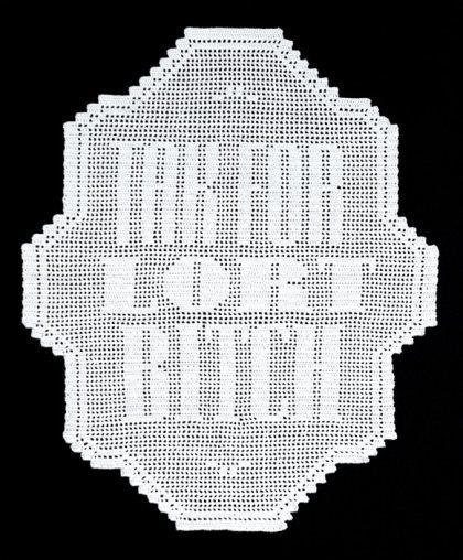 """Thanks for all your shit bitch!"" by Julie Katrine Andersen #andersen #crafts #danish #katrine #julie"