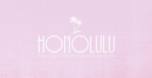design work life » Albin Holmqvist: EF Destinations #icon #series #honolulu #logo #typography