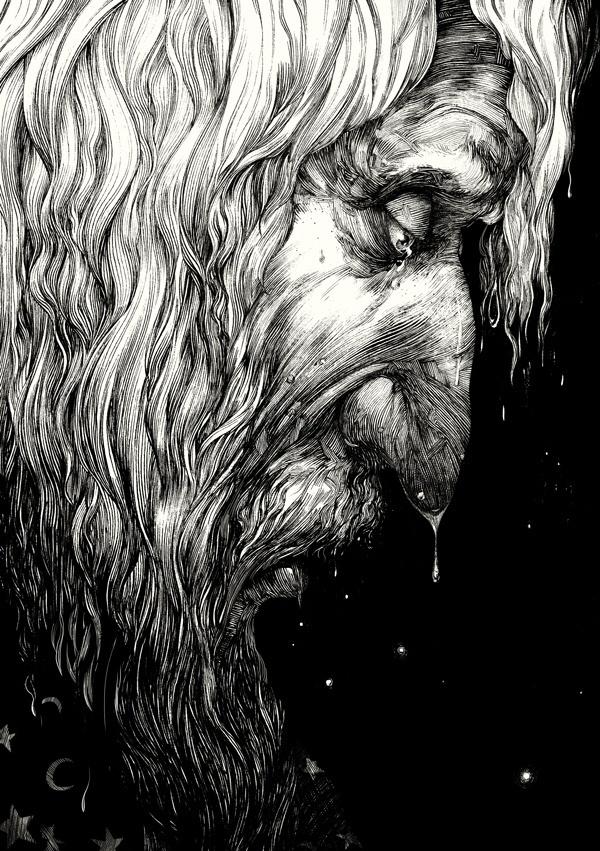 Inkling #illustration #blackwhite #pen