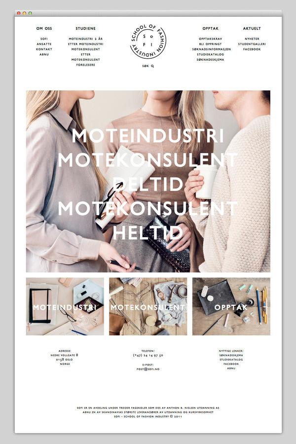 SoFI #website #layout #design #web