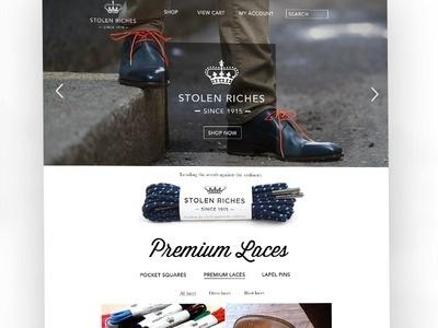 Fashion website #banner #web #design