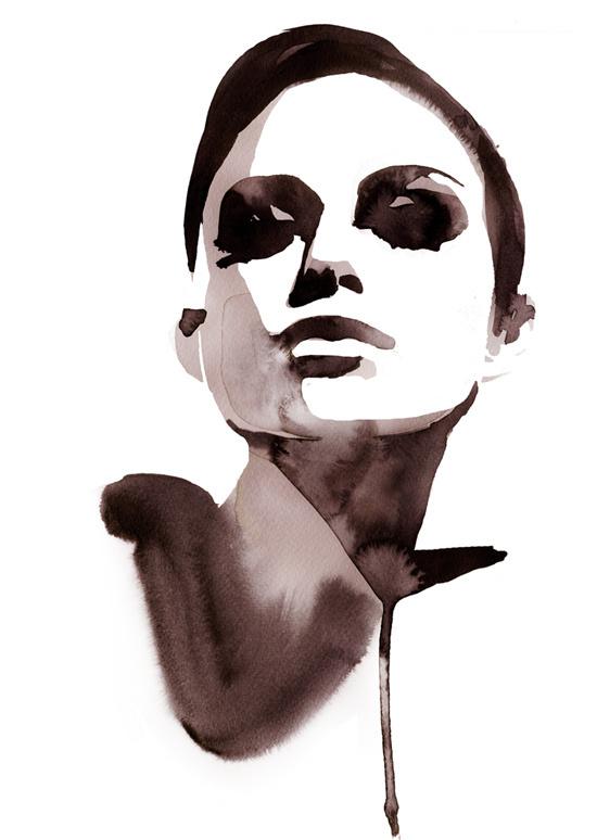 Watercolour : Stina Persson #stina #illustration #persson #watercolour