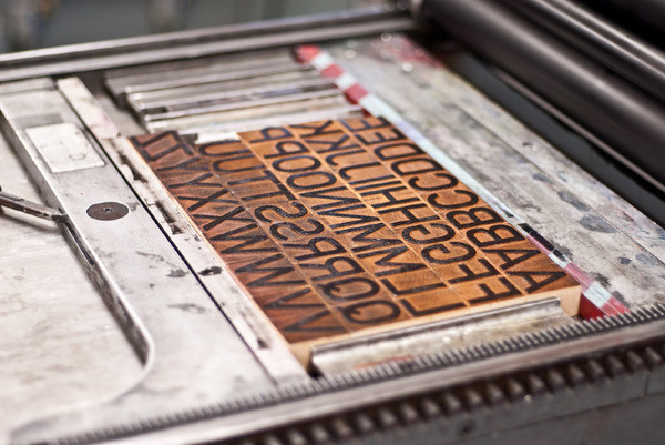 The Design Blog #wood #letters