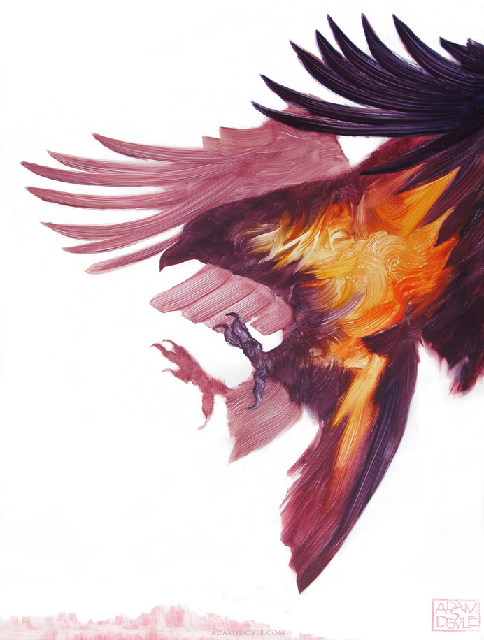 Painting #raven #painting
