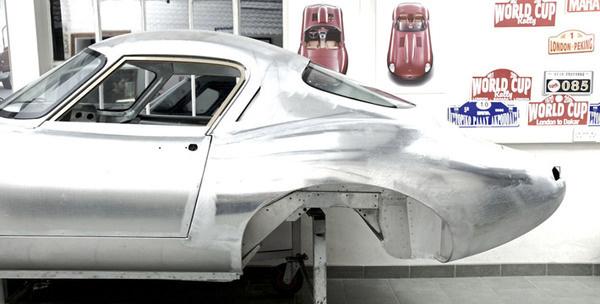 The Eagle E Type Low Drag GT #machine #shell #car #type #jaguar