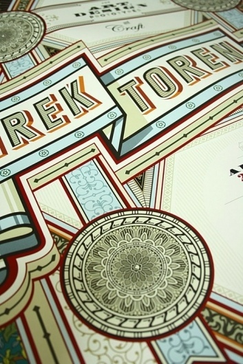 design work life » Apfel Zet Graphic Design: Direktorenhaus #ornate #print #retro #identity #vintage