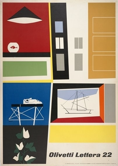SFMOMA | Explore Modern Art | Our Collection | Ing. C. Olivetti & C. | Poster