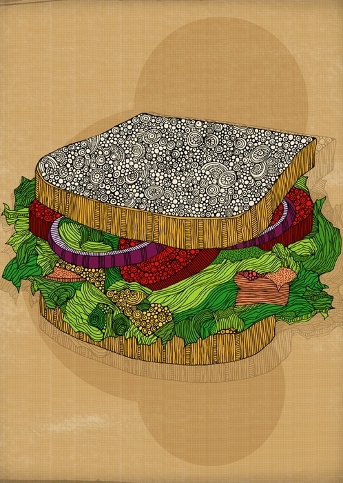Tumblr #illustration #food #art