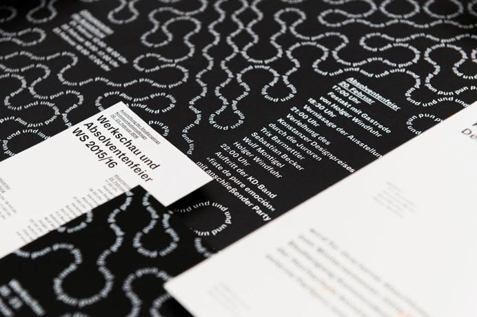 Werkschau Konstanz Branding Identity Minimal Black White Poster Type Typography Designblog Graphic Design Inspiration Best Inspire