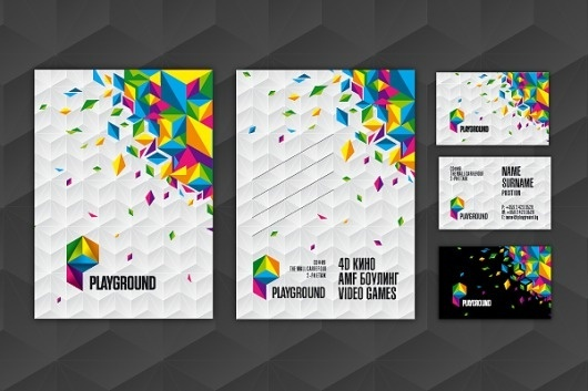 Playground : Ivan Manolov's Portfolio #identity #branding