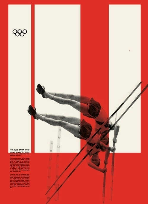 FOTOLITO — + Color Relativity 2 #swiss #white #red #vault #black #pole #poster #olympics #collage