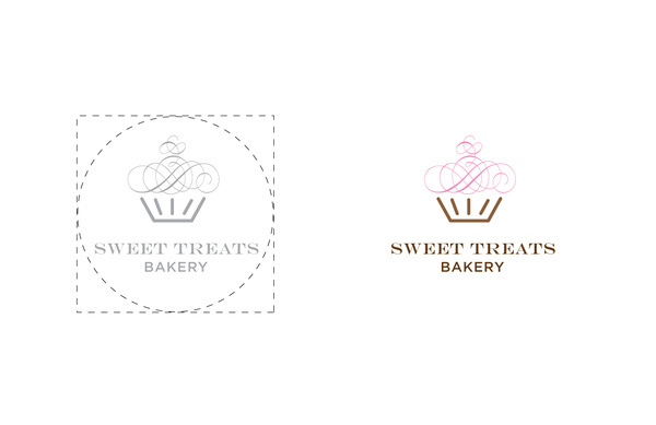Corporate Identity #bakery #cupcakes #treats #sweet #identity #logo