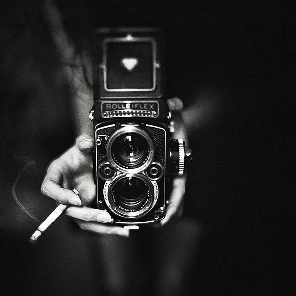 TEIKO #rolleiflex #camera #photography #woman